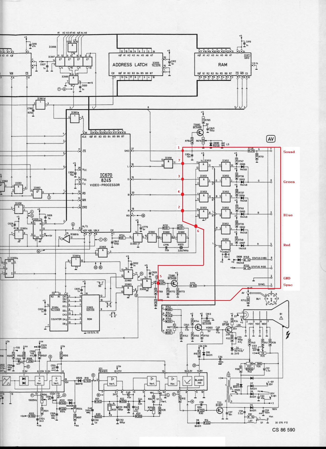 O2 RGB mod - Odyssey 2 / Videopac - AtariAge Forums Magnavox Odyssey Schematic on